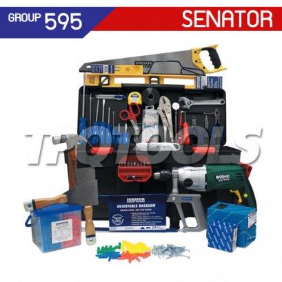 ชุดกล่องเครื่องมือช่าง 61 ชิ้น SEN-595-0540K