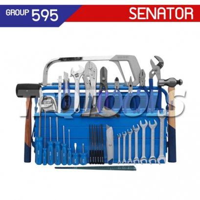 ชุดกล่องเครื่องมือช่าง 47 ชิ้น SEN-595-0700K