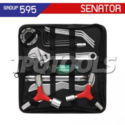 ชุดกระเป๋าเครื่องมือช่าง 15 ชิ้น SEN-595-4460K