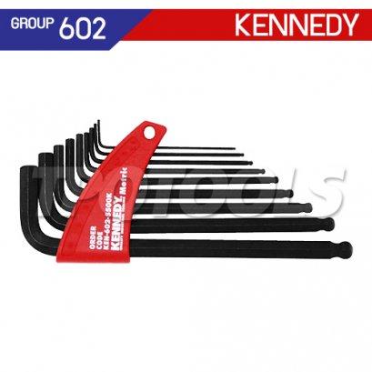 ชุดประแจหกเหลี่ยมหัวบอล KEN-602-5500K