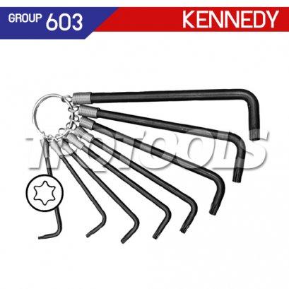 ชุดประแจหกเหลี่ยมท็อกซ์ 8 ตัว KEN-603-0720K