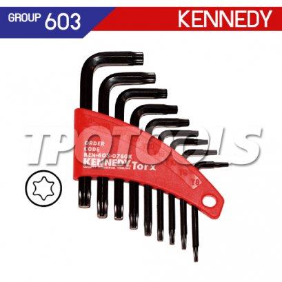 ชุดประแจหกเหลี่ยมท็อกซ์ 9 ตัว KEN-603-0760K
