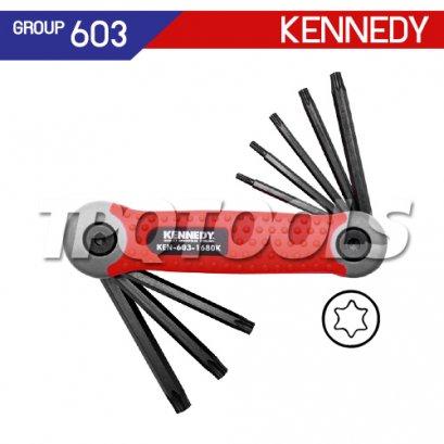 ชุดประแจหกเหลี่ยมท็อกซ์ 8 ตัว KEN-603-1680K