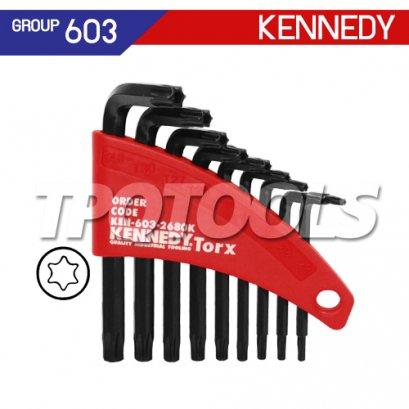 ชุดประแจหกเหลี่ยมท็อกซ์ 9 ตัว KEN-603-2680K