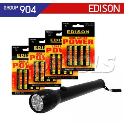 ไฟฉายพร้อมแบตเตอรี่ EDI-904-2922K , EDI-904-2923K