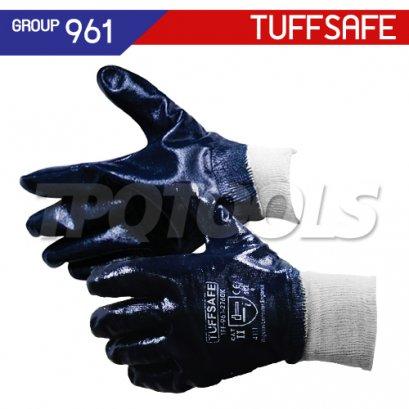 ถุงมือเคลือบไนไตรล์ TFF-961-2760K , TFF-961-2780K