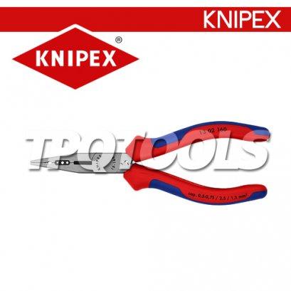 KN1302160 คีมปากแหลมและตัดสายไฟ 160 มม.