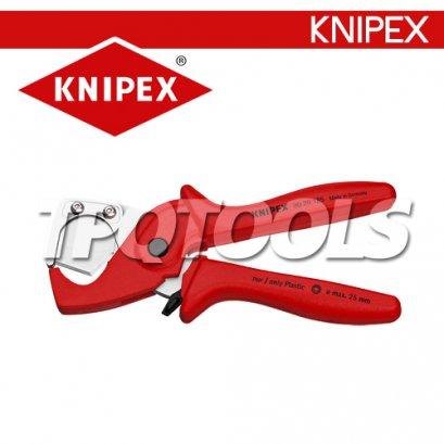 KN9020185 คีมตัดท่อ ด้ามหุ้มยาง