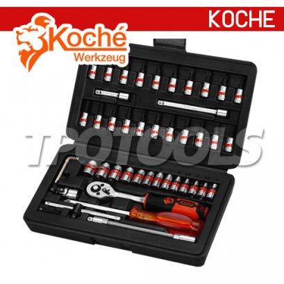 KCH047 บล็อกชุด 47 ตัว/ชุด SQ-DR.1/4