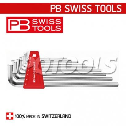 PB211H10 ชุดประแจหกเหลี่ยมยาว