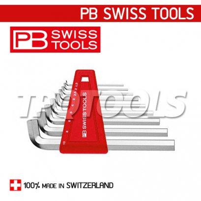PB2210H10 ชุดประแจหกเหลี่ยมแบบสั้นคอสั้น