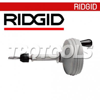 RIDGID 59812, 58890, 58895 เครื่องล้างท่อมือหมุน เหมาะกับอ่างล้างหน้า , อ่างอาบน้ำ  รุ่น K-26, K-25BP, K-25DH