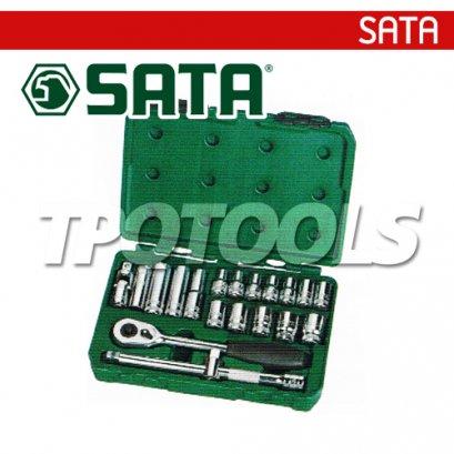 SATA94609005 บล็อกชุด 20 ตัว SQ.DR 1/2