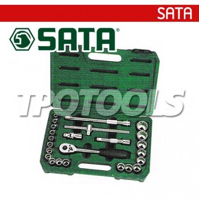 SATA94609060 บล็อกชุด 24 ตัว SQ.DR 1/2
