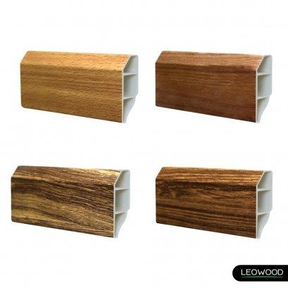 บัวเชิงผนัง PVC 2 นิ้ว ใช้สำหรับการปิดช่องว่างระหว่างพื้นไม้และผนัง ทำให้ได้งานพื้นที่สวยงาม