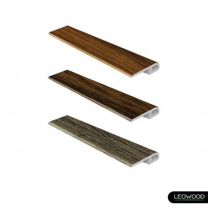 ตัวจบต่างระดับ PVC ลายไม้ (T1)