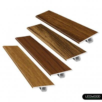 ตัวจบระดับเดียวกัน PVC ลายไม้ (T3)