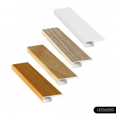 ตัวจบเก็บขอบ PVC ลายไม้ (T4)