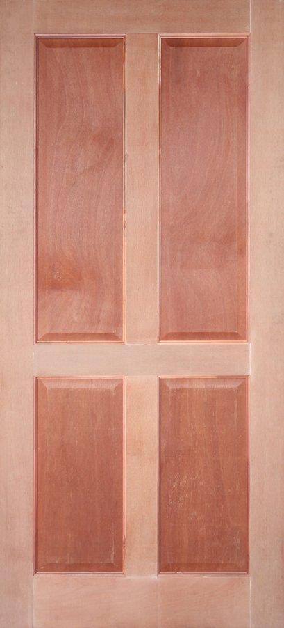 Leo Panel V : ประตูสยาแดง ลูกฟัก 4 ตรง