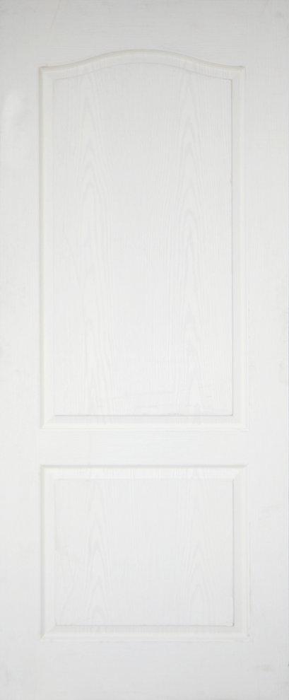 Leo Dore' : ประตูลูกฟัก 2 โค้ง ผิวลายไม้