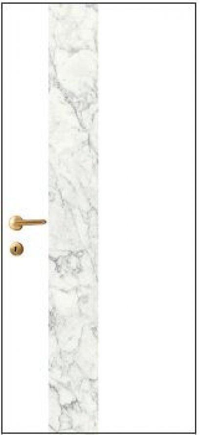 iDoor Marble Series : Pearl White