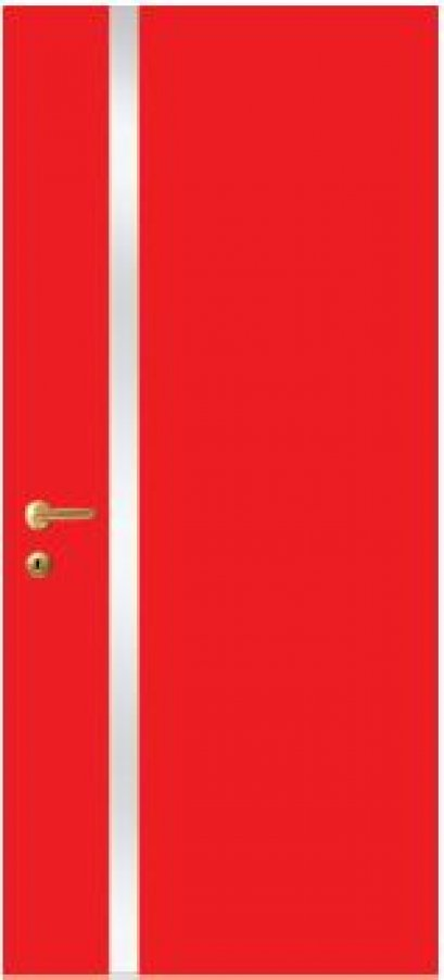 iDoor Metal Series : Ruby Red