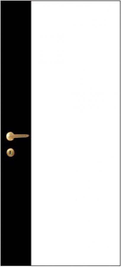 iDoor Pantone Series : Pearl White - Jet Black