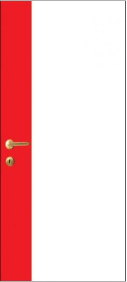 iDoor Pantone Series : Pearl White - Ruby Red