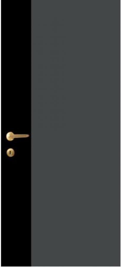 iDoor Pantone Series : Graphite Grey - Jet Black