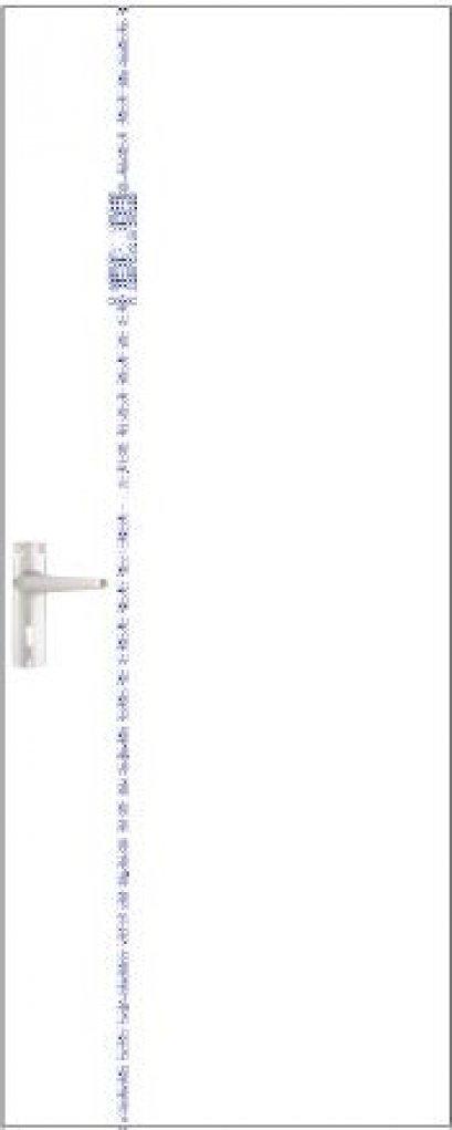 iDoor Crystal Series : Pearl White B