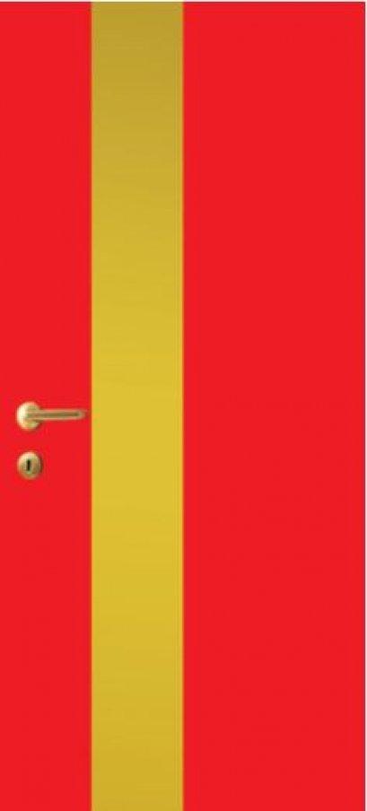 iDoor Metal Series : Ruby Red
