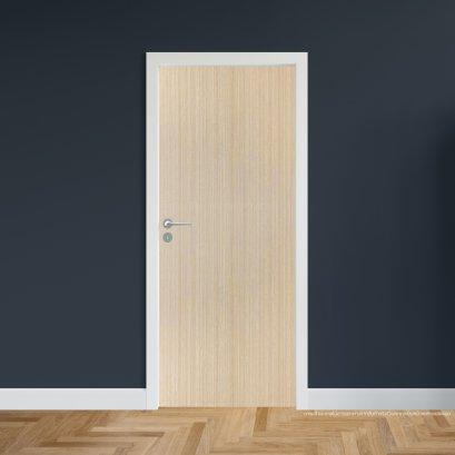 ประตูไม้เมลามีน สี Beige Series5 แบบบานเรียบ