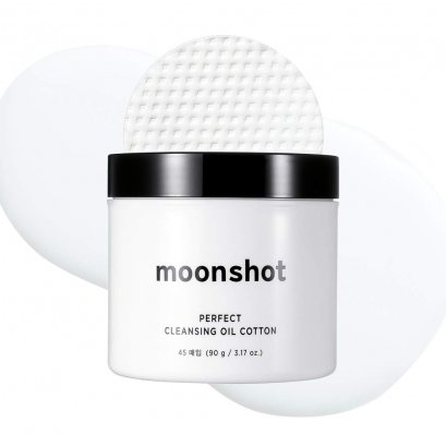 moonshot Perfect Cleansing Oil Cotton