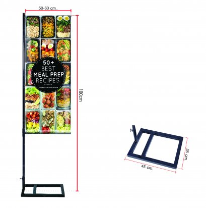 Flagpole / J- Flag / Poster Stand