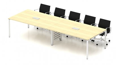 โต๊ะประชุมขาเหล็ก