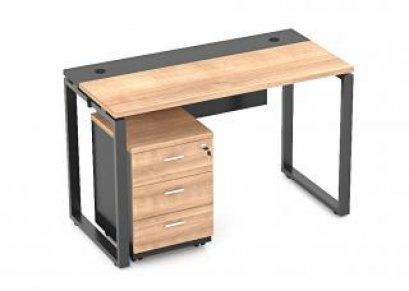 โต๊ะทำงานขาเหล็ก DS-OTS