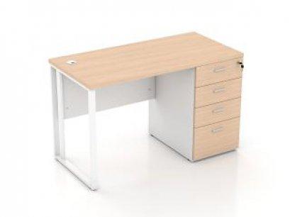 โต๊ะทำงานขาเหล็ก DS-MTT