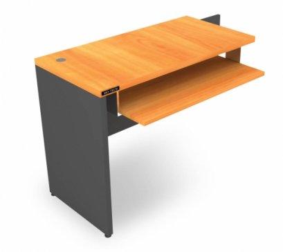 โต๊ะเสริมข้าง/ต่อข้างมีถาดคีย์บอร์ด