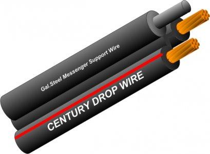 Drop Wire (Steel Messenger)