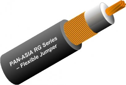 RG Series Flexible Jumper Coaxial Cable