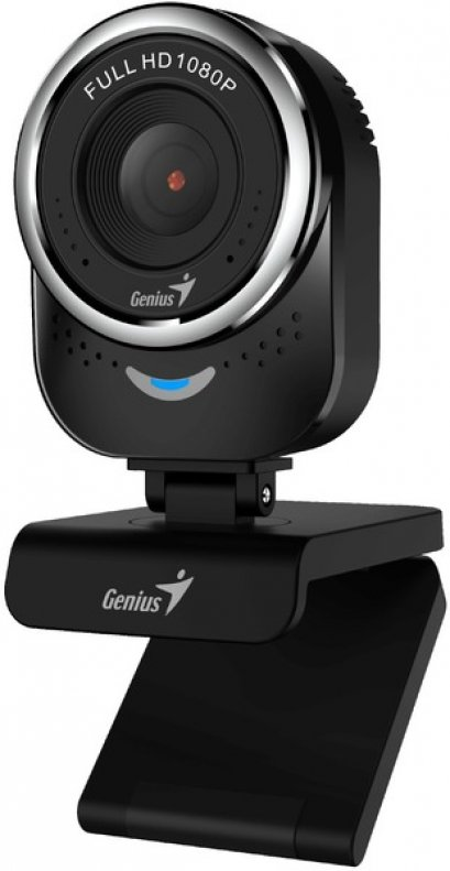 Webcam Genius QCam 6000 Black FullHD 1080P : 1Y