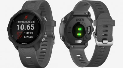 Garmin  Forerunner 245 Music Black :1Y