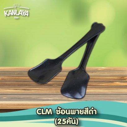 CLM ช้อนพายสีดำ 25คัน