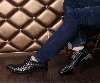 รองเท้าหนังแท้แบบผูกเชือกทางการ Formal Business Lace shoes in Leather