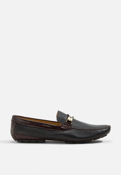 LEATHER LOAFERS SHOES YORK PIPE