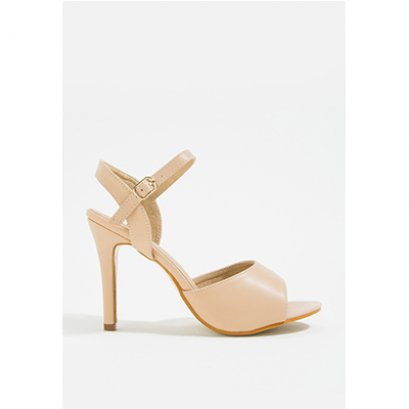 Mac & Gill Corlina Ankle Strap Heel Sandals CREAM