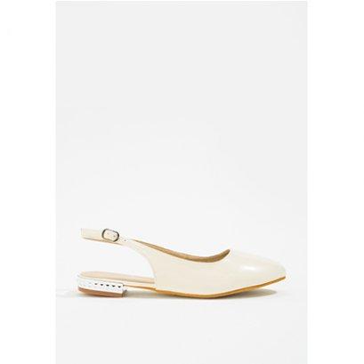 Mac & Gill รองเท้าส้นแบน Natalie Vamp Slingback Flats