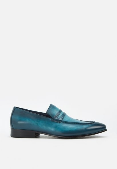 FELIPE LEATHER PENNY LOAFERS MAC AND GILL