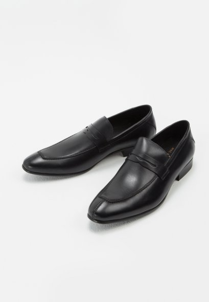 FELIPE LEATHER PENNY LOAFER genuine leather