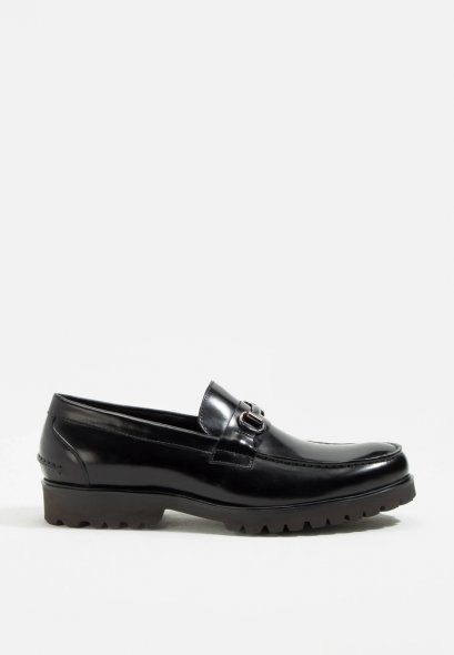 Mac & Gill Brixton Leather Loafers Patina Effect